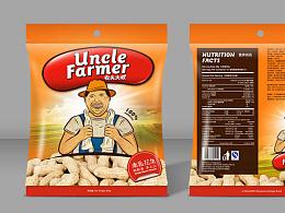 农夫大叔 花生包装设计方案