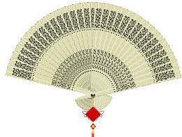 中国结扇子