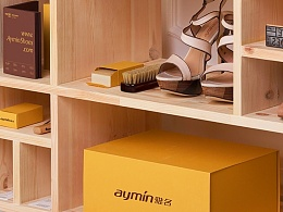 雅名女鞋品牌形象vis设计