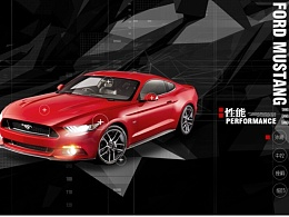 Ford Mustang GUI