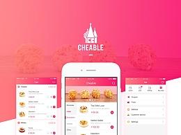 Cheable—快甜点电商app (sketch & principle)