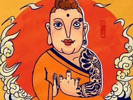 佛祖自在心中
