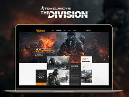 Web Design of The Division