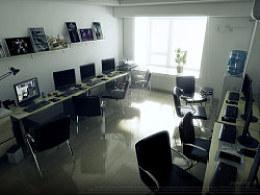 一组工作室的室内效果图~:)