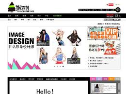 购物网站,首页,服饰海报 女装