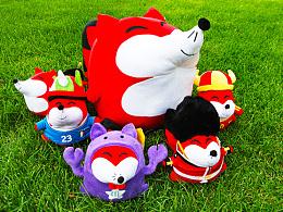 搜狐十二星座毛绒狐狸玩具设计