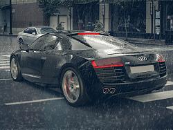 R8汽车渲染