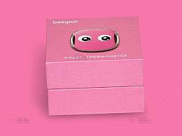儿童体温计包装设计
