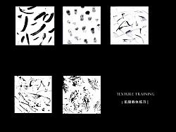 Color / texture training|色彩/肌理载体练习