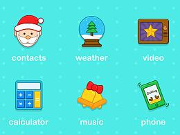 圣诞手机主题