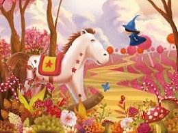 偷梦的小妖精 CD 封面和内页插画