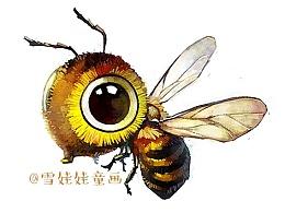 【萌宠 by 雪娃娃】bee