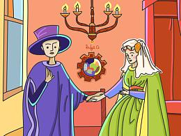 名画重绘之《阿诺芬尼的婚礼》