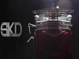 从0到1,1/72三用工作船SKD