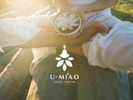 优米奥瑜伽品牌设计—海浪平面