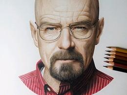 M.Z超写实彩铅手绘  —《绝命毒师》
