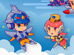 超能空战队-航天大世界
