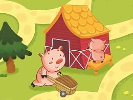 儿童玩具插画
