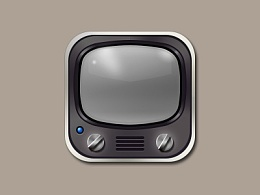 电视机写实icon
