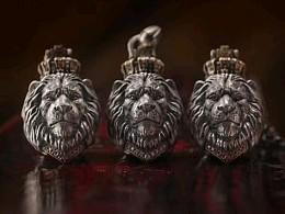 【狮王•吊坠】