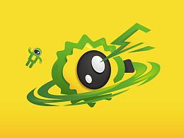 榴莲旅游 品牌形象 logo设计 厦门vi设计