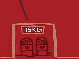 #愚人节#手机壁纸 我信你个鬼…#减肥不看体重#