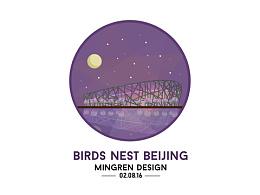 Day25- 每日设计 北京鸟巢