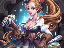 扑克师少女