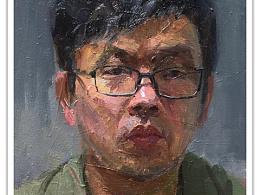 油画肖像速写
