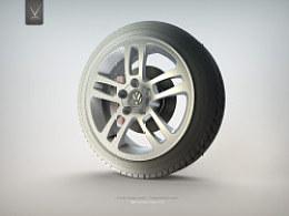 大众轻量化轮毂设计