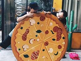 超级披萨-旧物改造