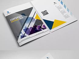 35套AI格式企业产品画册设计宣传册模板素材模板源文件