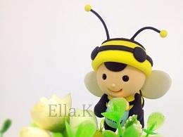 粘土小蜜蜂