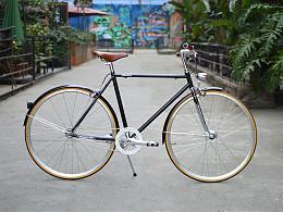 城市休闲复古公路自行车