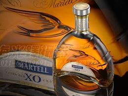 产品拍摄马爹利XO洋酒拍摄