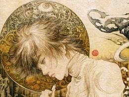 小说《玺》最新毛笔手绘插图