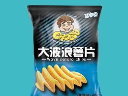薯片膨化食品包装袋