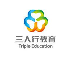 三人行教育品牌设计