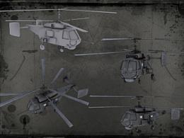 3Dmax制作的次时代飞机
