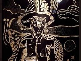 黑白纸刻画——及大船山庄设计