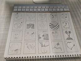 手绘logo