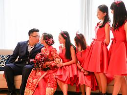 婚礼随拍:陪你度过漫长岁月丨邓欣虹&张楠