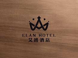 艾郎酒店设计 石家庄酒店标志设计