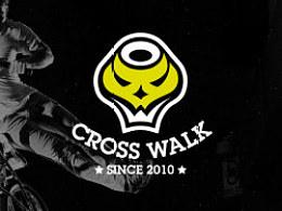 CROSS WALK BMX 极限运动俱乐部 LOGO