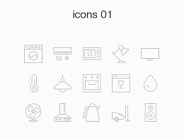 UI习作——Smart Home App Icon Set