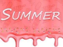夏日键盘皮肤