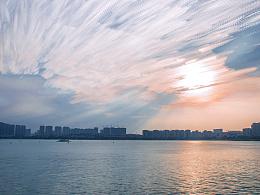 五缘湾一景