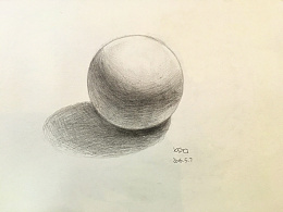 基础素描——几何体