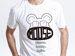 时尚十二生肖T恤图案设计