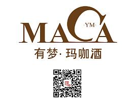 玛咖酒包装logo设计